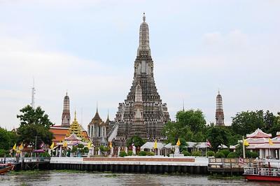Wat Arun, Chao Phraya River, Thailand