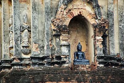 Chang Mai town ruin, Thailand