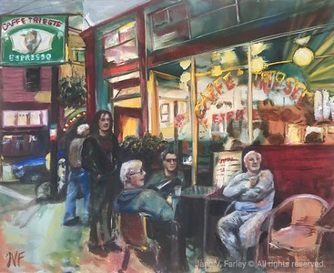 Study of Caffé Trieste in San Francisco