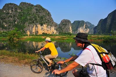 Cycling, Ninh Binh, Vietnam