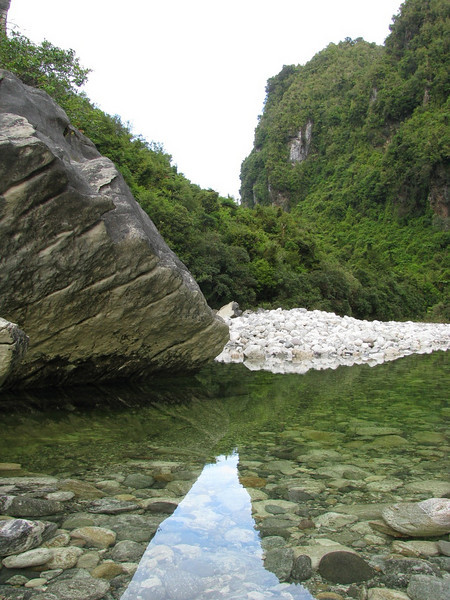 Dilemma Creek, Paparoa NP, New Zealand