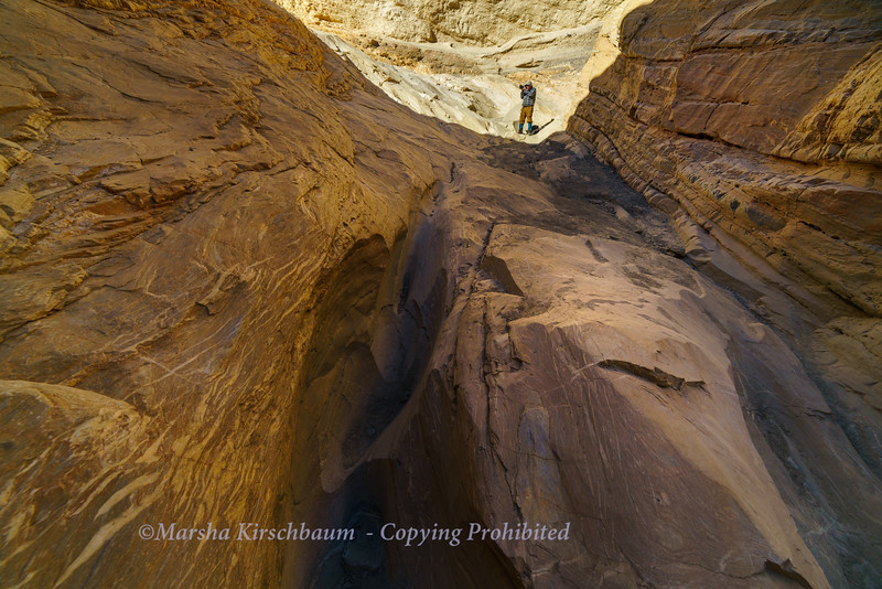 Mosiac Canyon Light - Death Valley