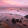 San Simeon Beach Turned Red