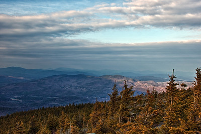 View from Mt Kearsarge