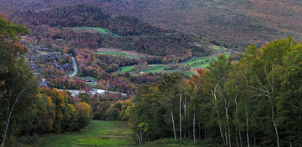 Stowe Mountain Resort - View of the Golf Course