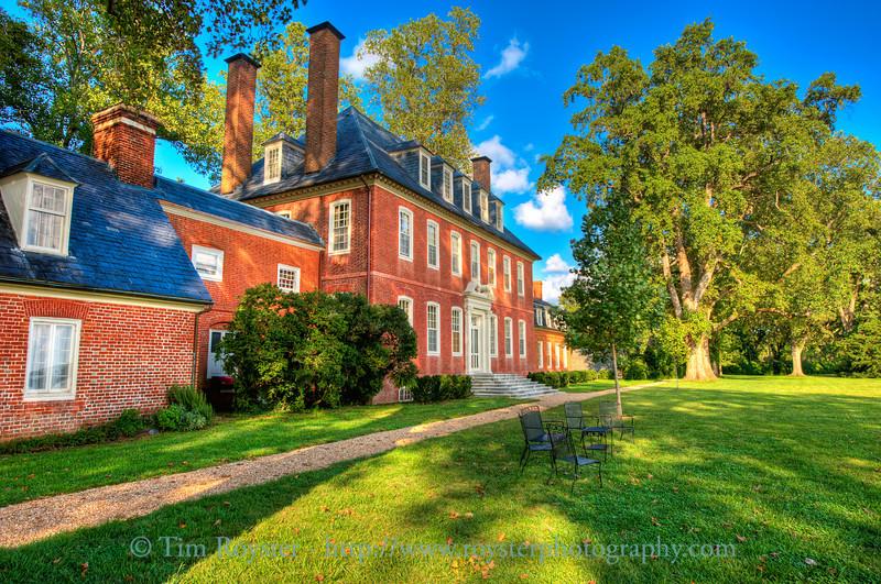 Westover Plantation in Charles City County, VA