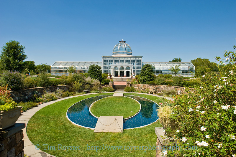 Lewis Ginter Botanical Garden Conservatory in Richmond, Virginia