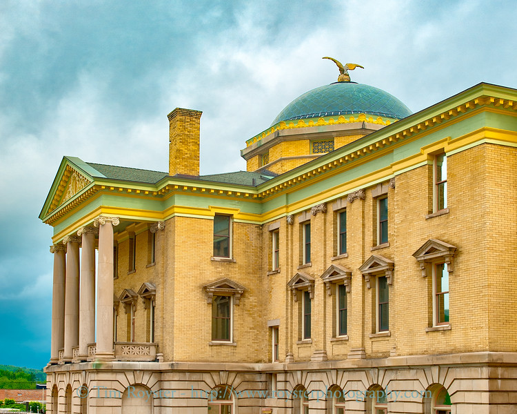 Garrett County Courthouse in Oakland Maryland