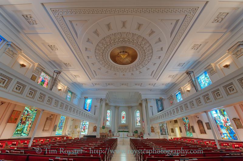 St. Paul's Episcopal Church in downtown Richmond, VA