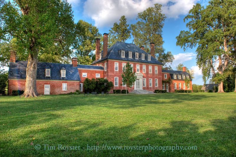 Westover Plantation in Charles City County, VA
