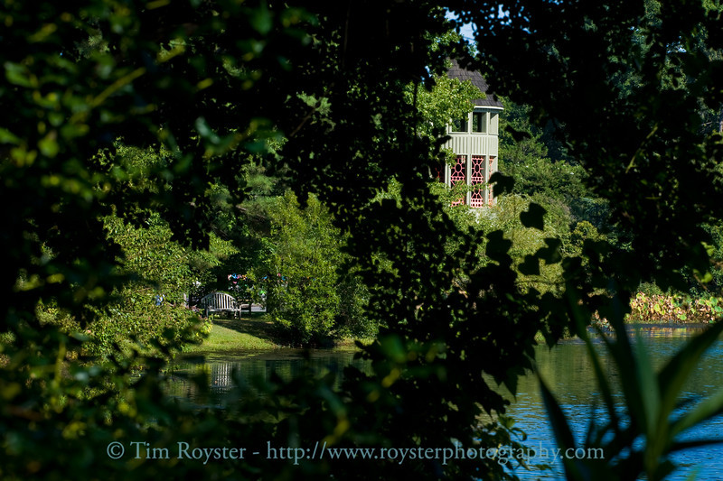 A tranquil scene at the Lewis Ginter Botantical Garden.