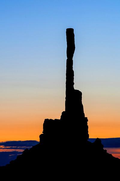 Sunrise Hunts Mesa