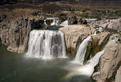 Shoshone Falls Park, Snake River Canyon, Twin Falls County, near Twin Falls, Idaho. I have a number of views of these beautiful falls from late summer.