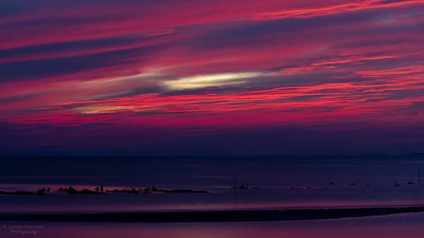 9PM Sunset, Variant #1