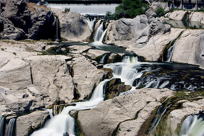 Twin Falls, Idaho, Shoshone Falls Park, Snake River Canyon, Twin Falls County
