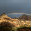 Rainbow over Zion