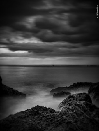 Long exposure shot during July storm in Southern California 2015
