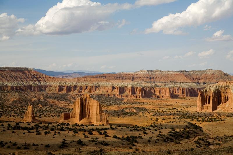 Upper Cathedral Valley, Utah