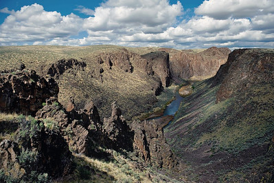 East Fork of the Owyhee River, Idaho Wilderness.