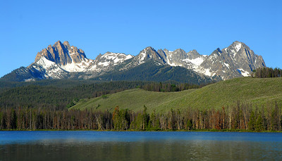Little Redfish Lake Idaho, Sawtooths