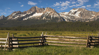 Sawtooth Mountains, Idaho. By Mike Reid, All Outdoor Photography.