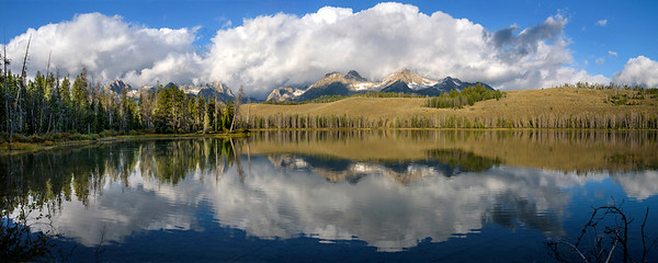 Little Redfish Lake, Idaho.