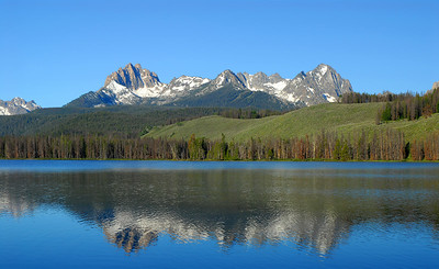 Little Redfish Lake, Sawtooths