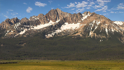 The Sawtooths, Idaho.
