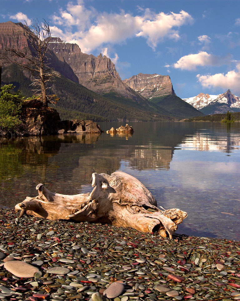 St. Mary's Lake, Glacier National Park. Photo by Mike Reid, All Outdoor Photography.