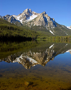 Stanley Lake, Sawtooth Mountains in Idaho