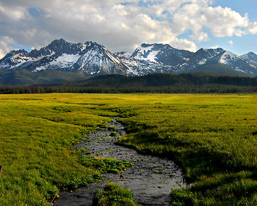 Sawtooth Mountains, Idaho. Photo by All Outdoor Photography, Mike Reid.