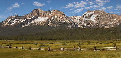 The Sawtooth Mountains, Idaho.