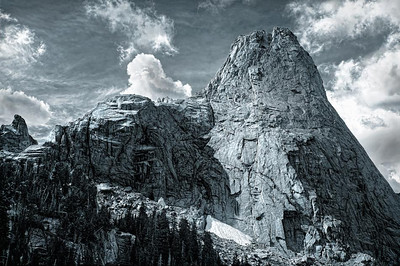 Wind River Mountains, Wyoming. Cirque of the Towers.
