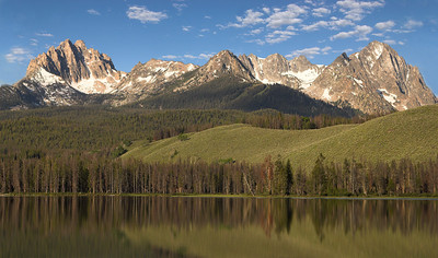 Sawtooth Mountains. Idaho.