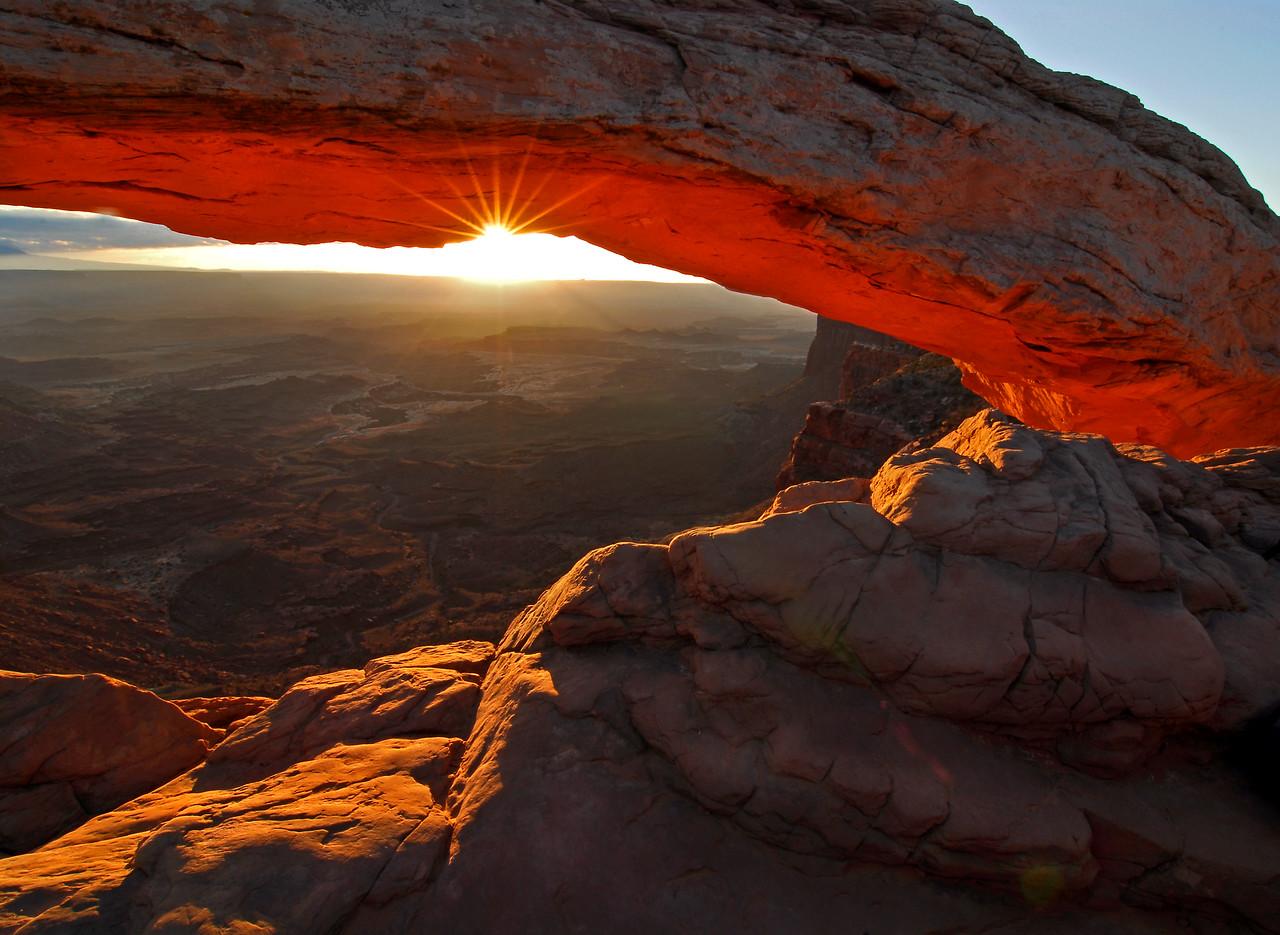 Mesa Arch, Canyonlands.