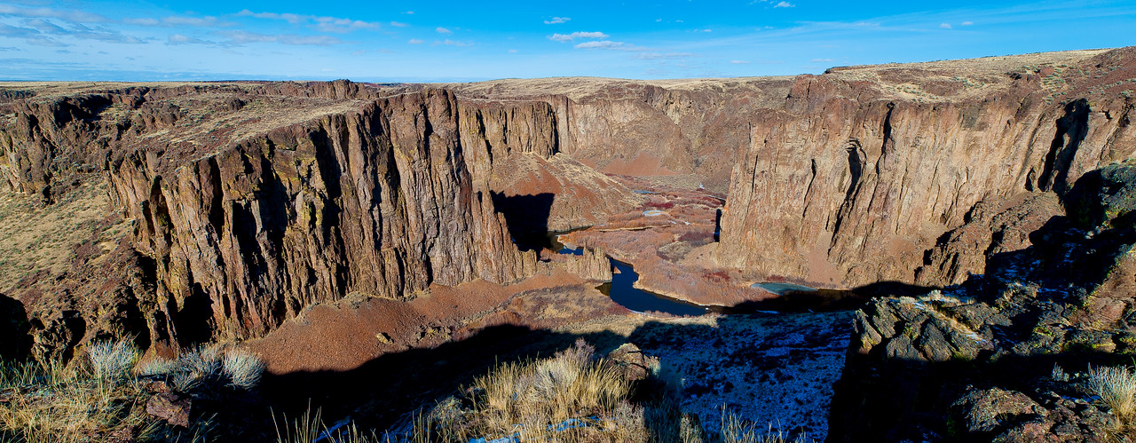 East Fork of the Owyhee River, Idaho. The Tules.