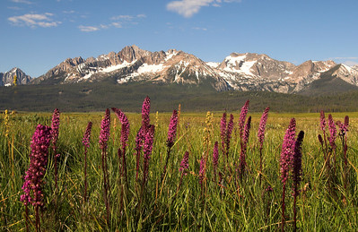 Stanley Idaho, Sawtooth Mountains