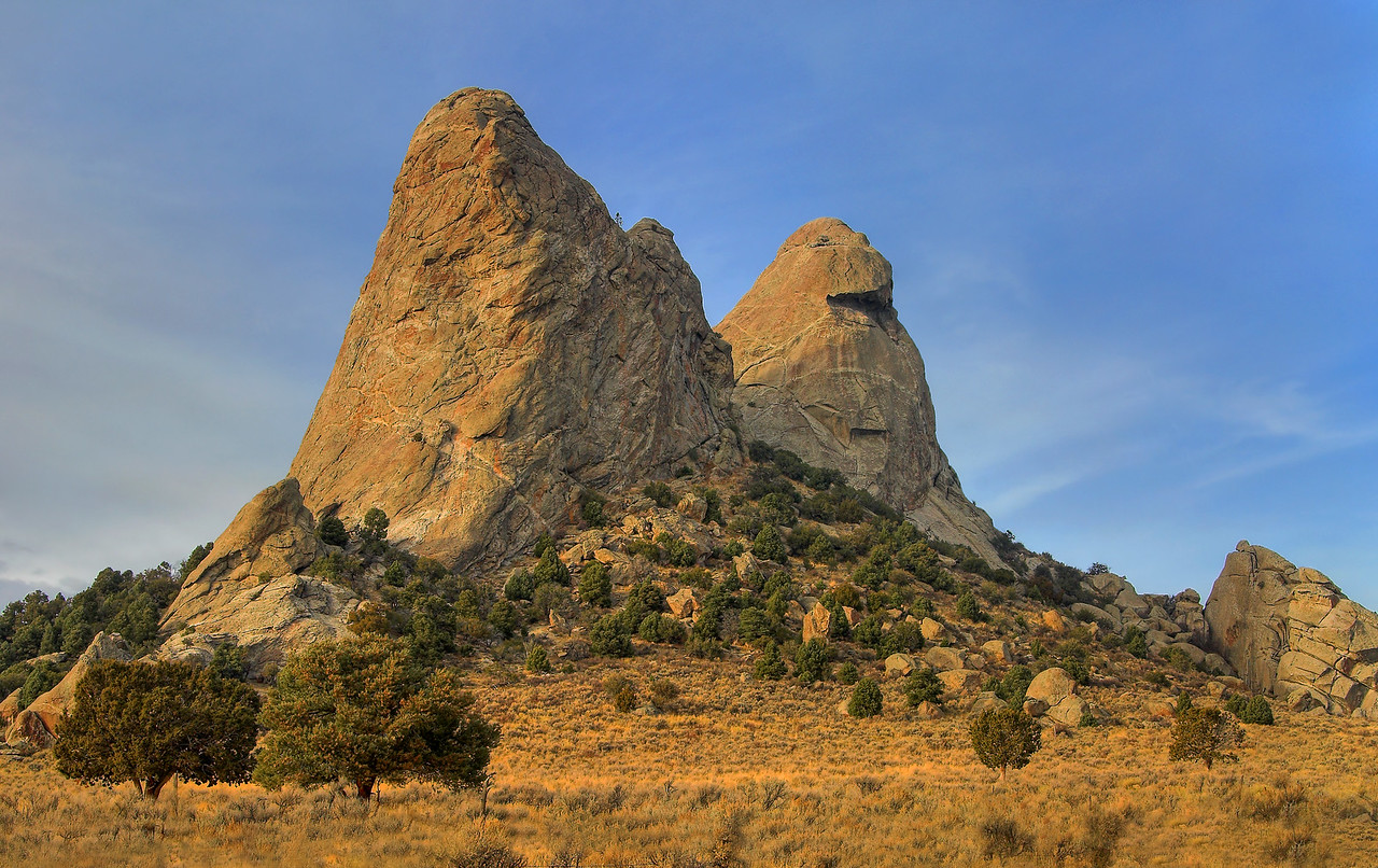 Sisters. City of Rocks, Idaho.
