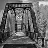 Sun Valley Idaho. Old railroad bridge.