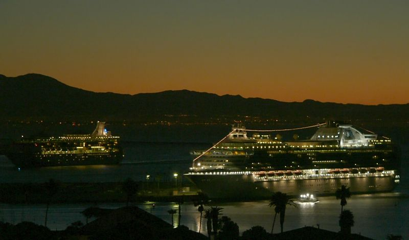 """Island Princess"" Sunrise, December 19, 2004"