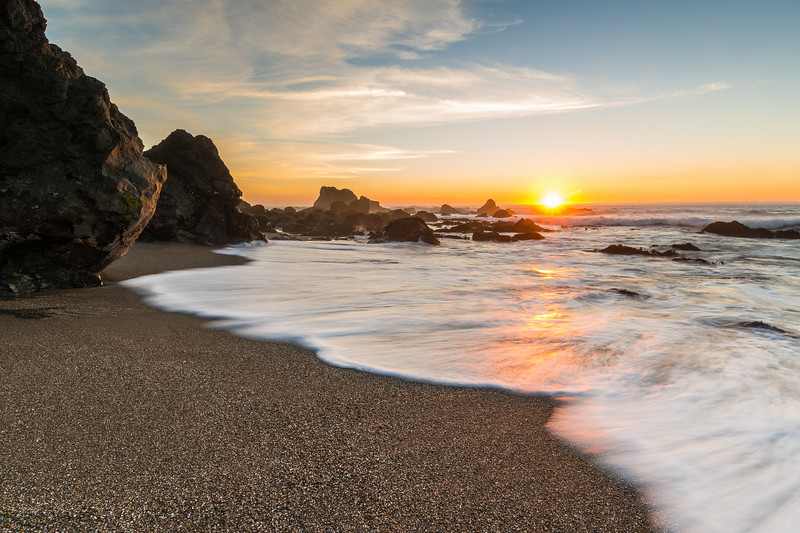 Schoolhouse Beach Sunset
