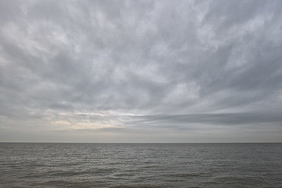 English Channel from Whitstable, January