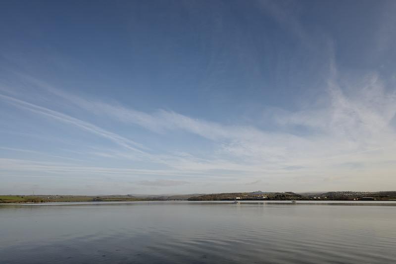 Saltash estuary, January, 11.30 am