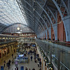 St Pancras Station, December