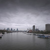 View from Waterloo Bridge, February