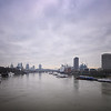 View from Waterloo Bridge, March