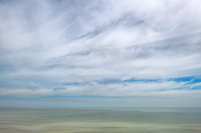 English Channel from Broadstairs, June
