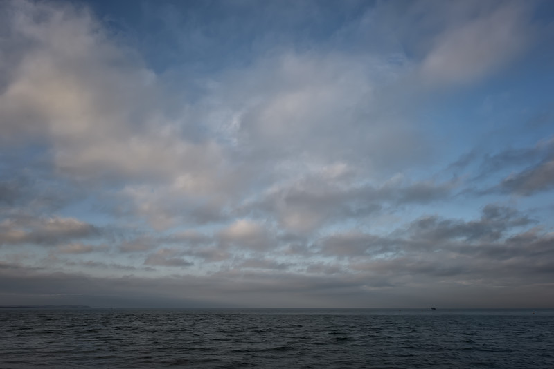 English Channel from Whitstable, December