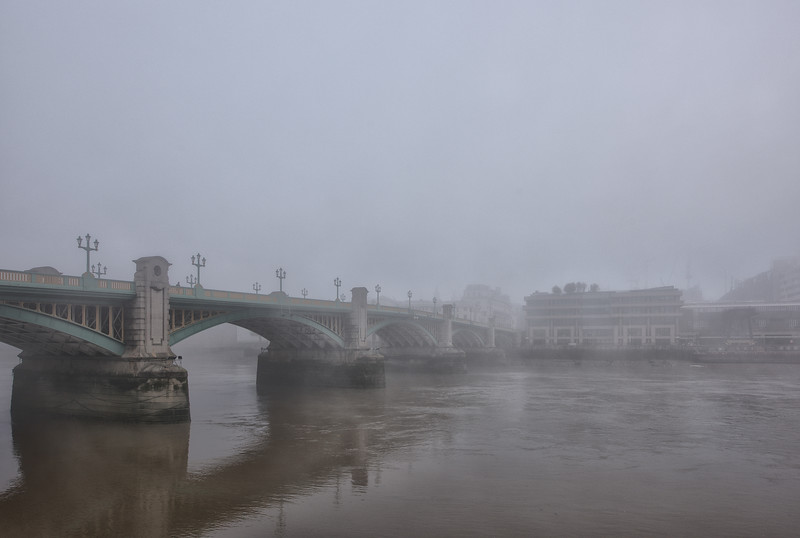Southwark Bridge, November