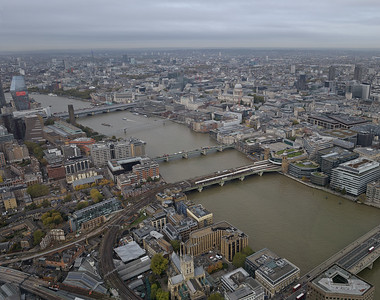 View from the Shard, October